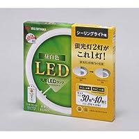 アイリスオーヤマ 丸形LEDランプ シーリングライト用 30形+40形相当 調光タイプ リモコン付 昼白色 LDCL3040SS/N/29-C