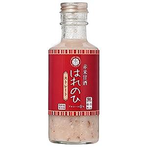 [セット販売] 岡山県産古代米「赤米」使用ノンアルコール・ノンシュガー甘酒[赤米甘酒はれのひ](200g×10本セット)×3個