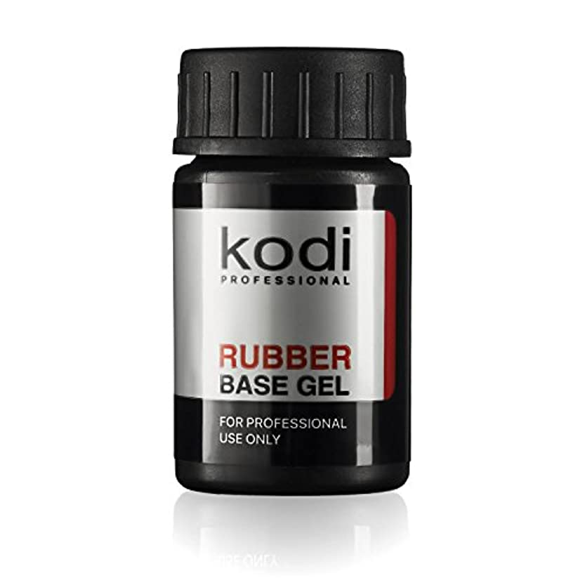 ツーリストアスペクト反映するProfessional Rubber Base Gel By Kodi | 14ml 0.49 oz | Soak Off, Polish Fingernails Coat Gel | For Long Lasting Nails Layer | Easy To Use, Non-Toxic & Scentless | Cure Under LED Or UV Lamp