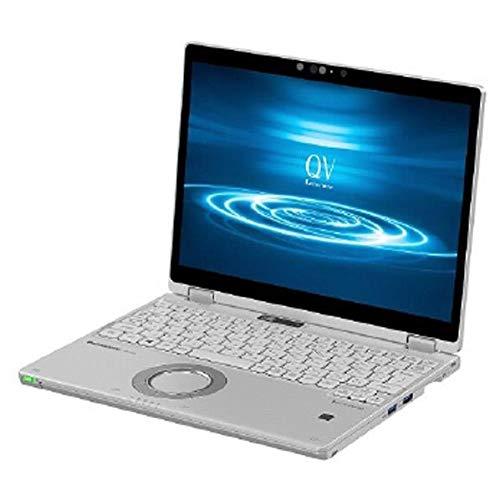 ノートパソコン Let''s note シルバー パナソニック(Panasonic) パナソニック CF-QV8FDGQR
