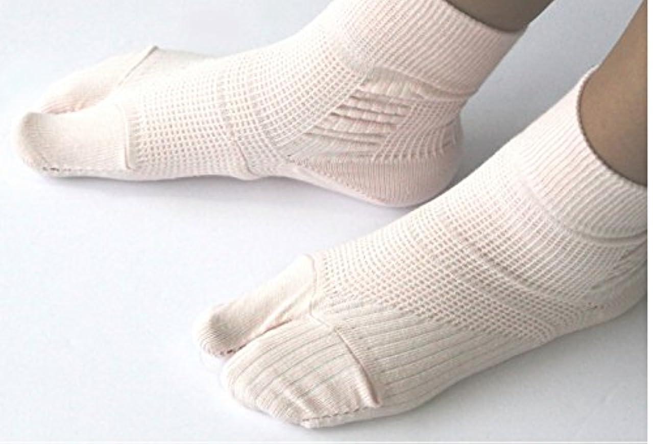 郵便局カリング追う外反母趾対策靴下(通常タイプ) 着用後でもサイズ交換無料・・着用後でも返品可