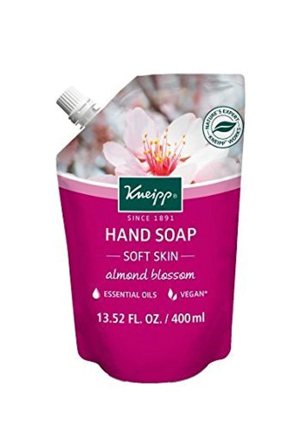 フェードアウト口述休憩するKneipp Almond Blossom Hand Soap Refill 13.52 Fl Oz [並行輸入品]