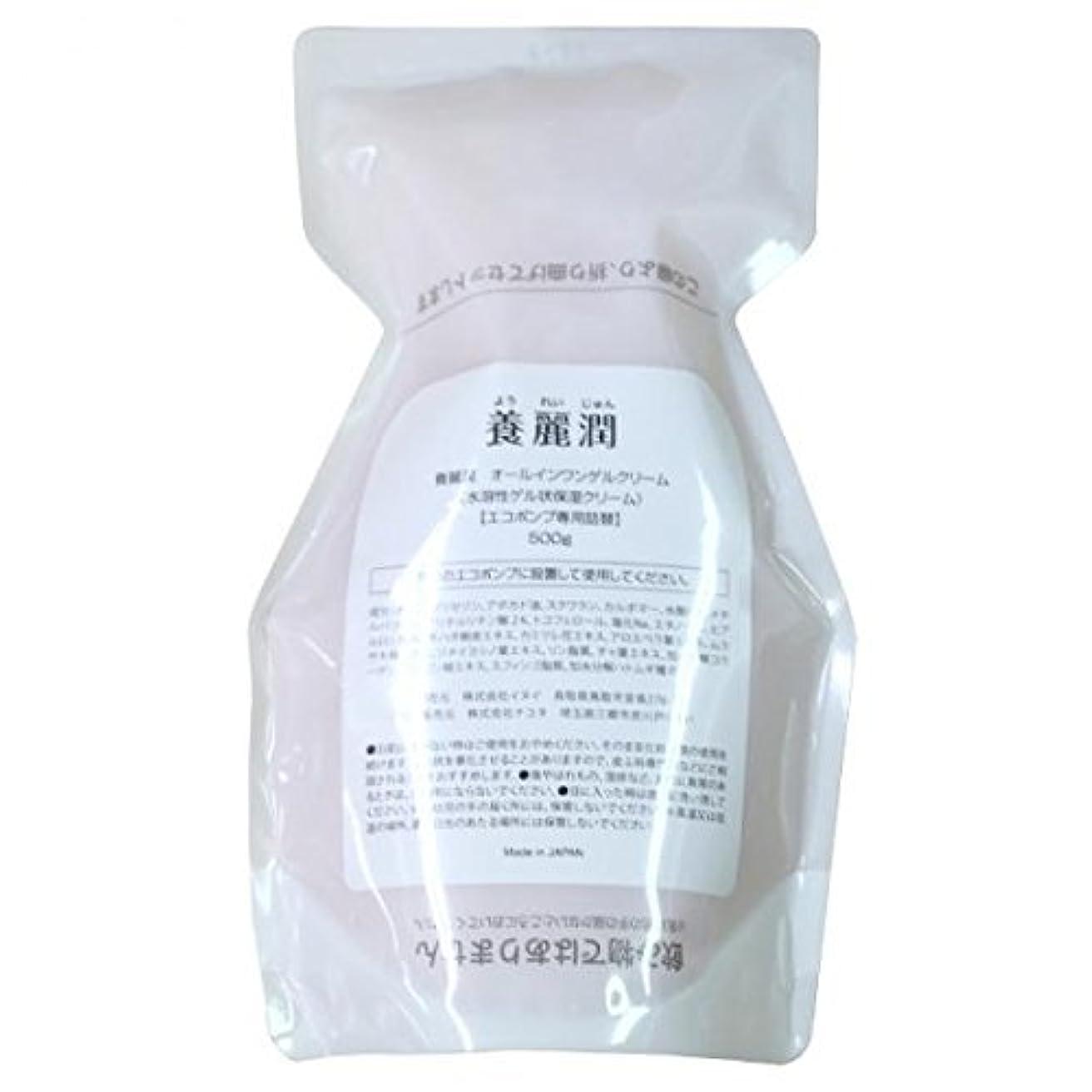 パイプライン分子値下げ養麗潤(ようれいじゅん) 詰め替え用500g