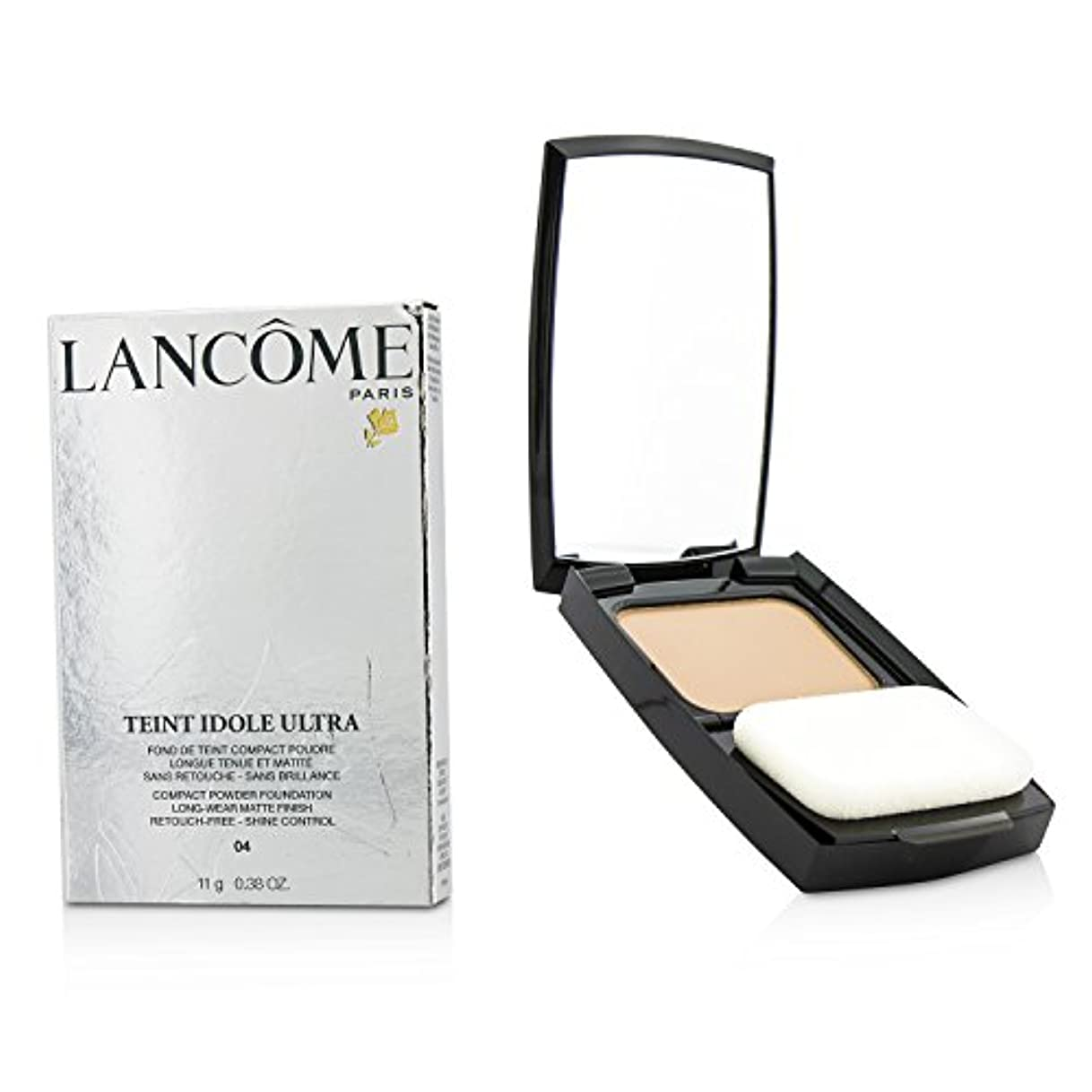 愛国的な絶え間ないクランシーランコム Teint Idole Ultra Compact Powder Foundation (Long Wear Matte Finish) - #04 Beige Nature 11g/0.38oz並行輸入品