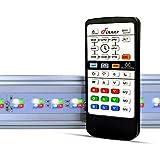 Finnex Planted+ 24/7 ALC Aquarium LED Light, 660nm Red, Customizable Sunrise and Sunset, 24 Inches