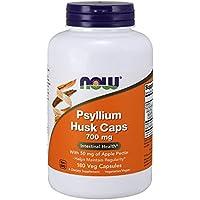 海外直送品 Now Foods Psyllium Husk, 180 Caps 700mg w/PECTIN