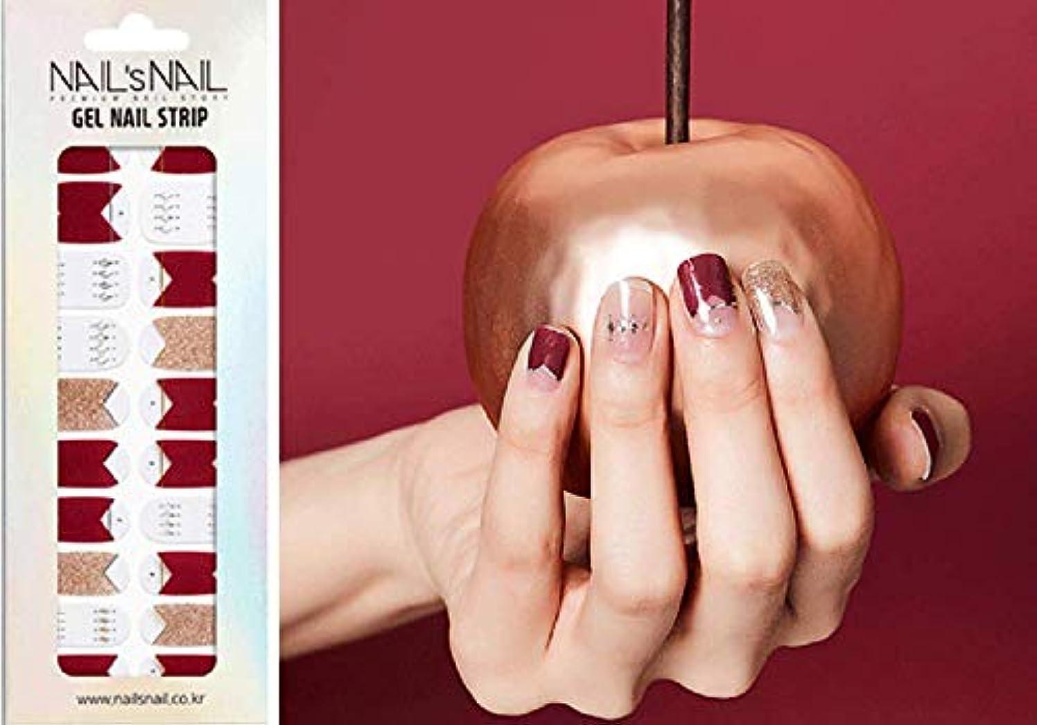 ブリーク男らしさ安価な\貼るジェルネイル/Nail's Nail(ネイルスネイル) ジェルネイルストリップ 109