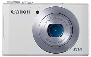 Canon デジタルカメラ PowerShot S110 約1210万画素 F2.0 光学5倍ズーム ホワイト PSS110(WH)