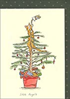グリーティングカード クリスマス 「リトル・エンジェル」 XM1