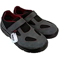 GEZER Safety Shoes with Steel Toe and Suede   for Summer