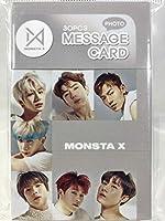 MONSTA X モンスタエックス グッズ / フォト メッセージカード 30枚セット - Photo Message Card 30pcs [TradePlace K-POP 韓国製]