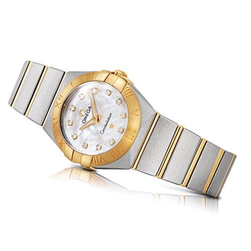[オメガ]OMEGA 腕時計 コンステレーション ホワイトパール文字盤 ダイヤ 123.20.24.60.55.002 レディース 【並行輸入品】