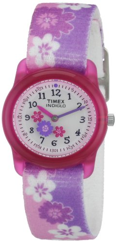腕時計 キッズアナログ エラステックストラップ  ハワイアン T7B011 タイメックス