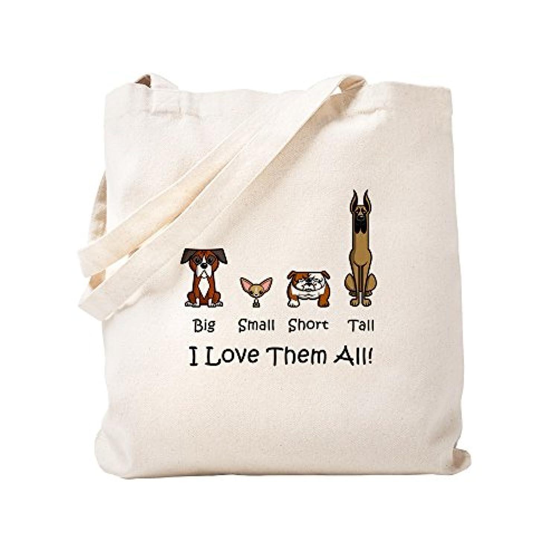 CafePress – Dog Lover – ナチュラルキャンバストートバッグ、布ショッピングバッグ S ベージュ 0480513532DECC2