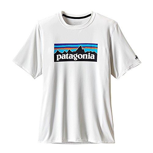 PATAGONIAパタゴニアラッシュガードM'SR0SUNTEEメンズR0サンMPWHT