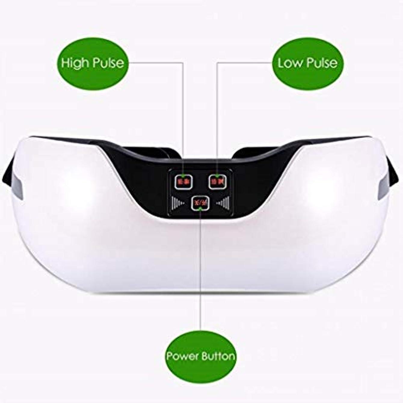 起こりやすい傾向独特の近視の予防のための視力回復器具トレーニングアイマッサージ器具 (Color : White)