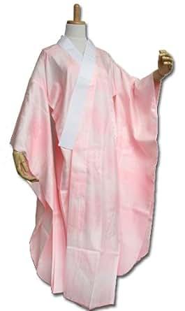 Sサイズ お仕立て上がり 振袖用 長襦袢 「ピンク」 掛け衿付き 特典で衿芯2本付き