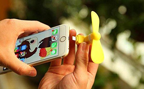 ximinsen USB扇風機 ファン ミニファン 省エネ 小型 扇風機 USB&Micro スマホ用携帯扇風機 iPhone Android