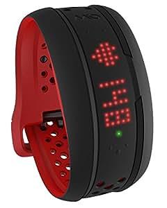 Mio 活動量計 【日本国内正規販売品・保証付】MIO FUSE ミオ フューズ クリムゾン (Lサイズ) 継続的心拍測定ライフトラッキングデバイス Bluetooth SMART/Bluetooth 4.0 ANT+対応