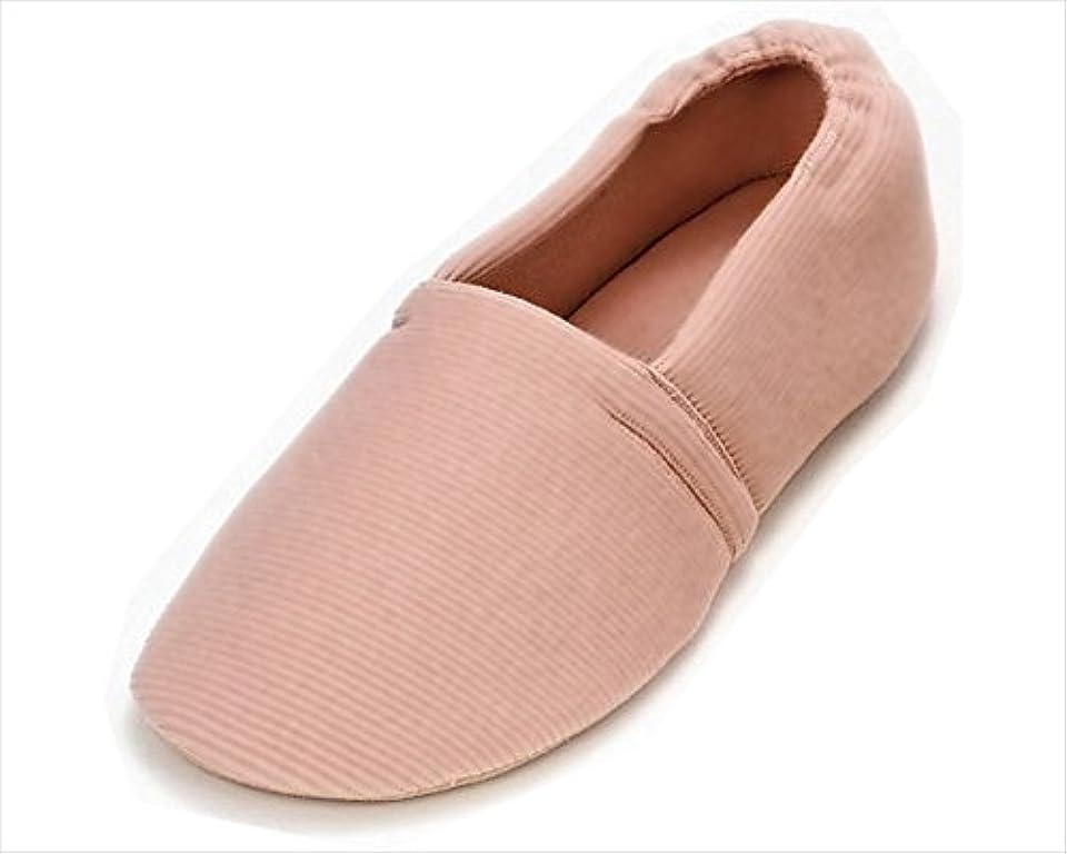 胆嚢選択する事前に介護シューズ あゆみ エスパド 室内用 ピンク Sサイズ(20.5~21.5cm) 足囲3E相当 片足(右足)