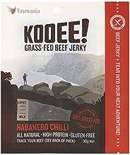 KOOEE! Grass-fed Beef Jerky Habanero Chilli, 1 x 10 Count