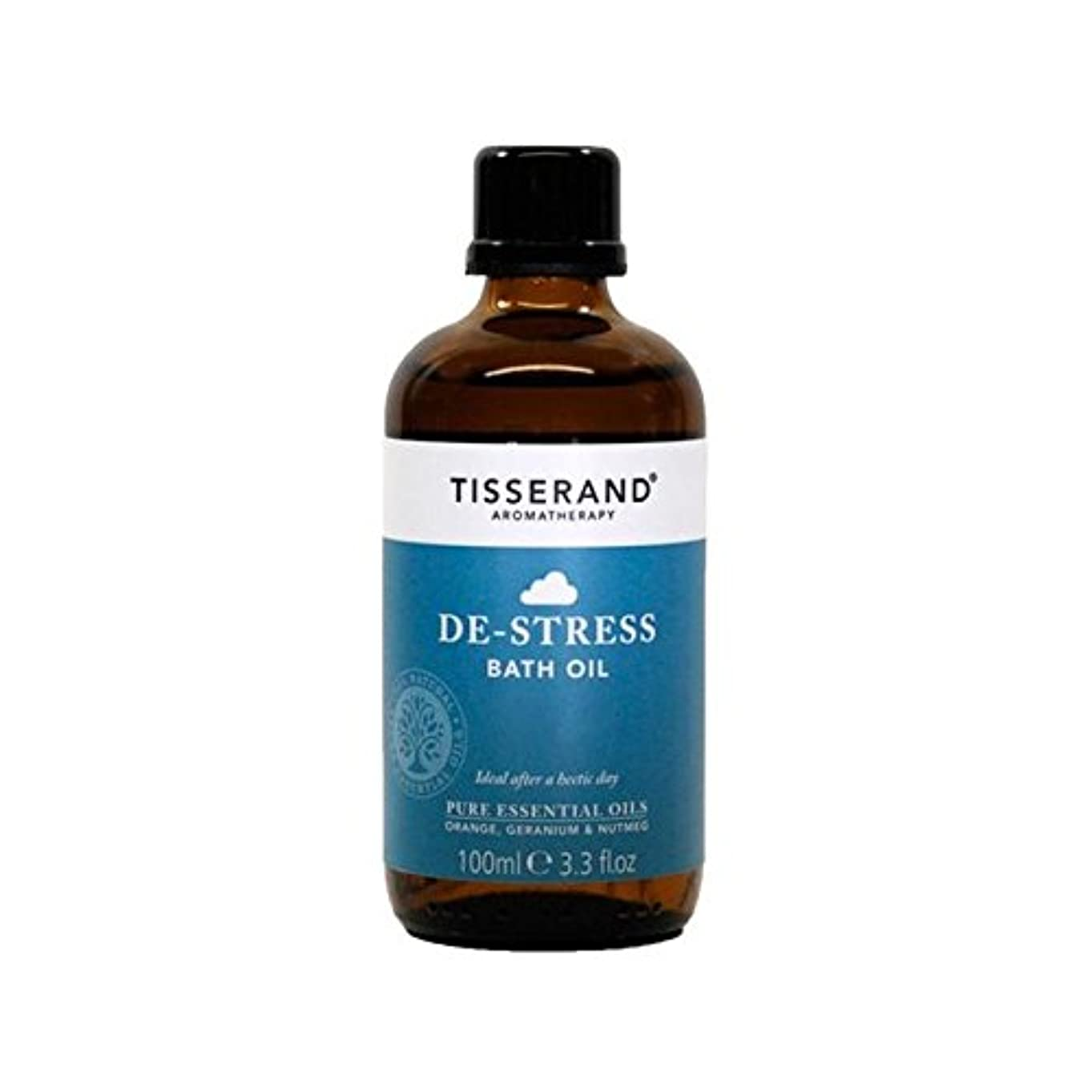 医師ホーン保全Tisserand De-Stress Bath Oil 100ml - ティスランドストレス解消入浴オイル100ミリリットル [並行輸入品]