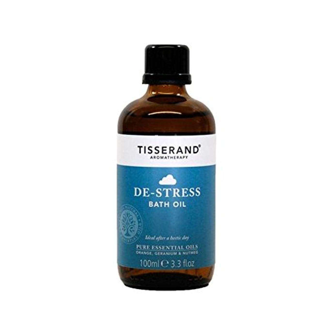 拳ポジションページTisserand De-Stress Bath Oil 100ml - ティスランドストレス解消入浴オイル100ミリリットル [並行輸入品]