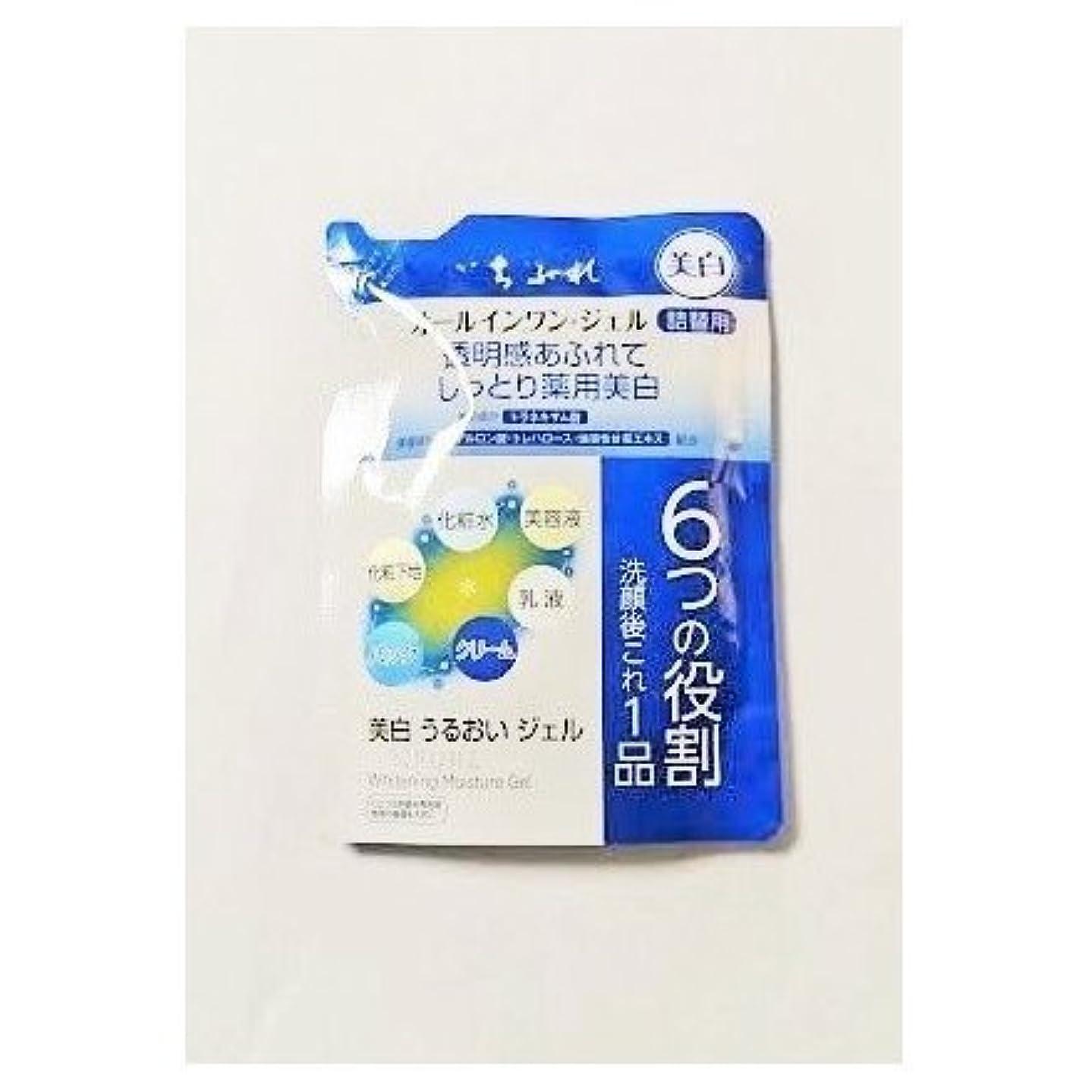 浸食クラッシュ酸化物ちふれ化粧品 美白うるおいジェル 詰替 108g