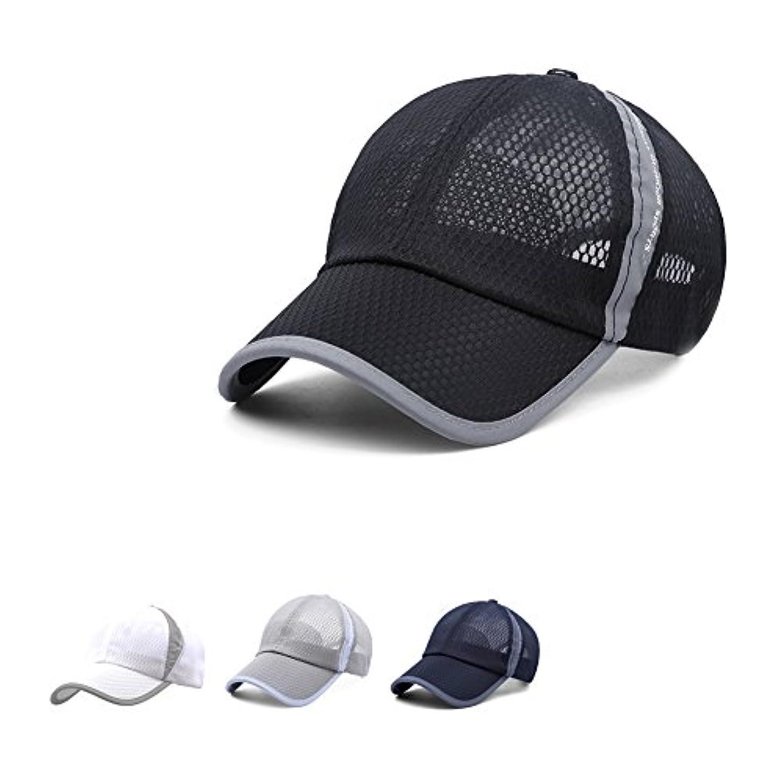 投票印刷するサーカス野球キャップクイック乾燥メッシュ通気性釣りRunning Visor Cycling Sun Hat for Men and Women