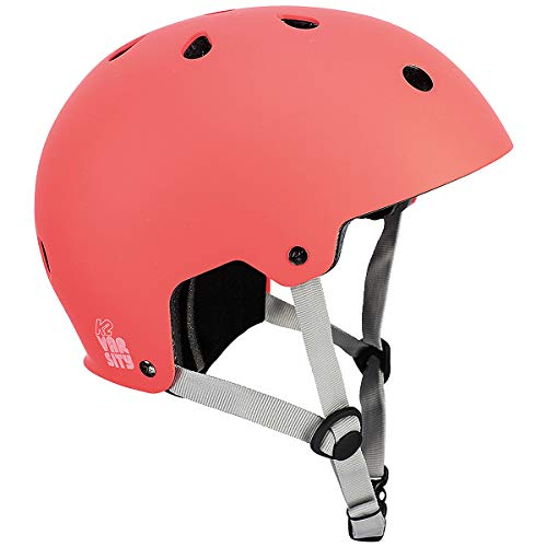 K2(ケーツー) ジュニア ヘルメット 2019 VARSITY HELMET コーラル(ピンク) I190400106 ケーツー オールシーズン対応 インライン&スケボー用 子供用 【C1】