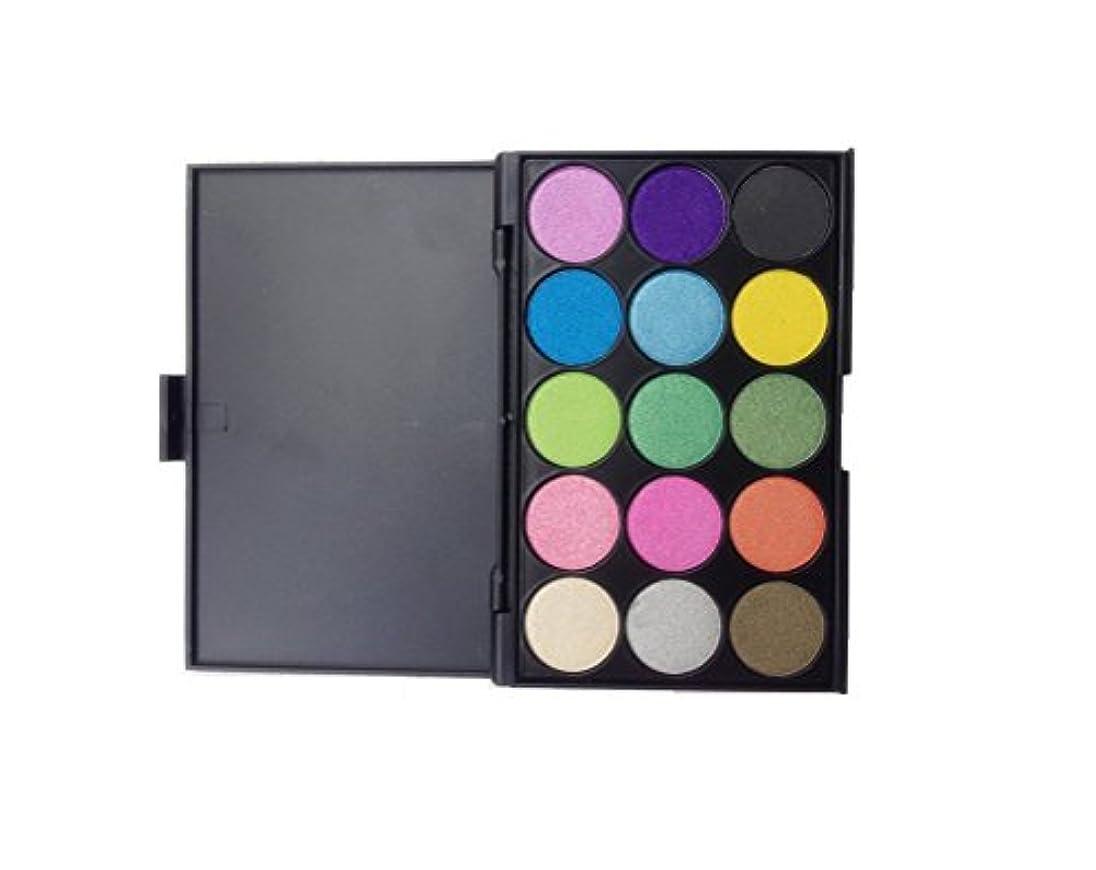 リーシーボード再発するMakeupAcc アイシャドウパレット 15色 パール マット 実用色 人気 コスメ (04) [並行輸入品]