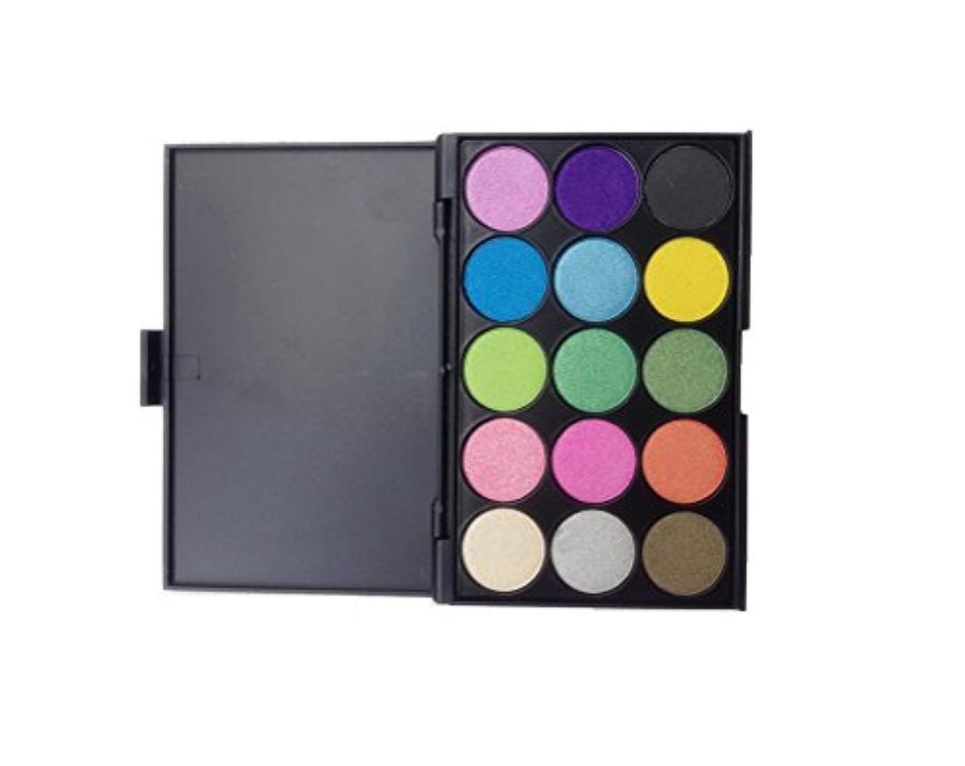 調整するメジャー市長MakeupAcc アイシャドウパレット 15色 パール マット 実用色 人気 コスメ (04) [並行輸入品]