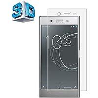 Sony Xperia XZ Premium ガラスフィルム Sony エクスぺリア XZ Premium SO-04J フィルム 専用 3D曲面 フルカバー フィルム 液晶保護フィルム 全面保護 極高透過率 強化ガラス