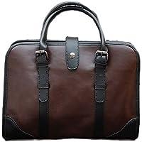 NUBEN Men Shoulder Bag Messenger Bag Casual Synthesis Cowhide Tote
