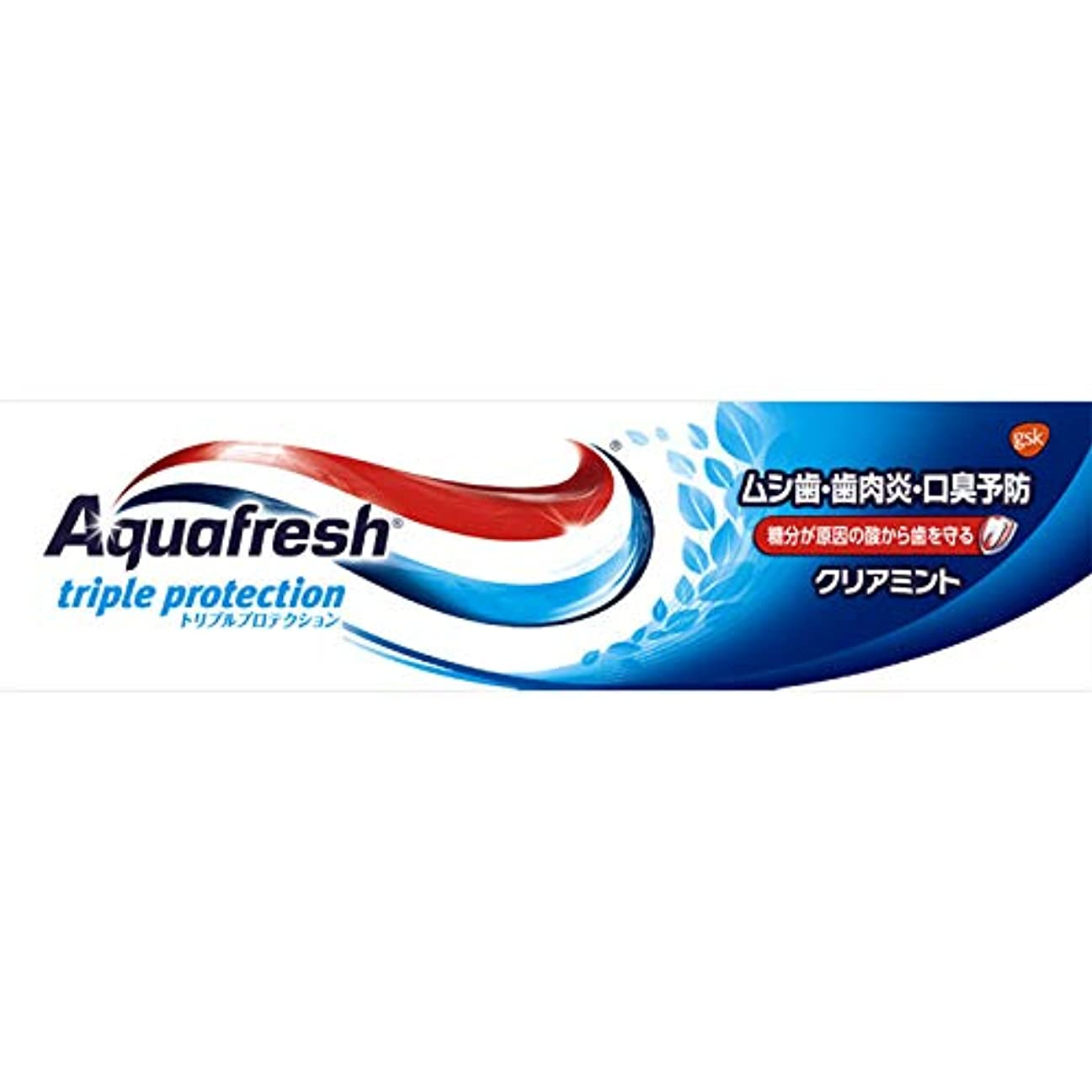 解放する付属品効果的アクアフレッシュ クリアミント 35g