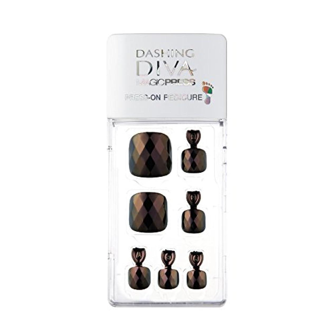 売上高マーカーチョコレートダッシングディバ マジックプレス DASHING DIVA MagicPress MDR176P-DURY+ オリジナルジェル ネイルチップ