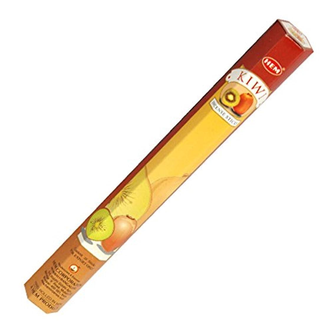祝うジェーンオースティン天のHEM(ヘム) キウイ KIWI スティックタイプ お香 1筒 単品 [並行輸入品]