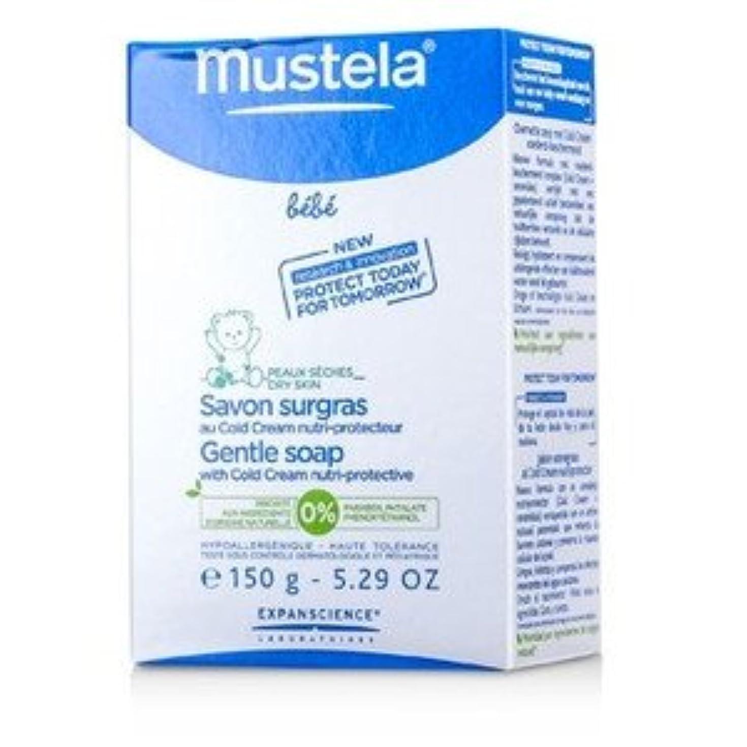 不一致より良い糞Mustela ジェントル ソープ with コールドクリーム 150g/5.29oz [並行輸入品]