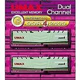 UMAX DDR4-2400 8G×2 デスクトップ用 288pin U-DIMM UMAX DCDDR4-2400-16GB HS
