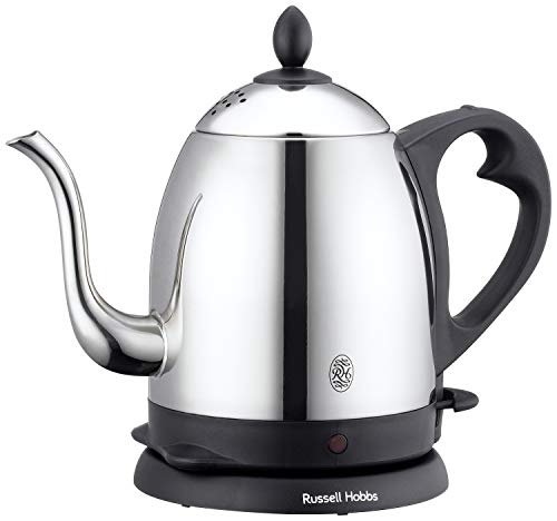 ラッセルホブス 電気ケトル コーヒー ステンレス ドリップ ポット 細口 0.8L 7408JP