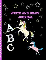 """Write and Draw Journal: Grades K-2: Primary Composition Lined and Half Page Lined Paper with Drawing Space (7.4"""" x 9.6"""" Notebook), Learn To Write and Draw Journal"""