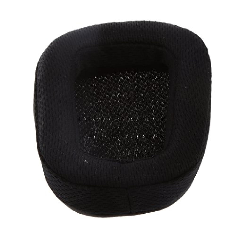 ノーブランド品  交換用 イヤーパッド イヤークッション Logitech G933 G966 ヘッドフォン適用 2個 黒