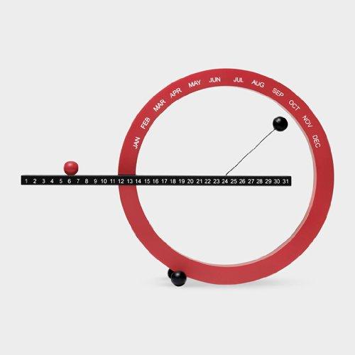 MoMA パーペチュアルカレンダーS RED