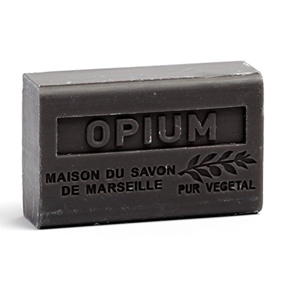レスリング難民塩辛いSavon de Marseille Soap Opium Shea Butter 125g