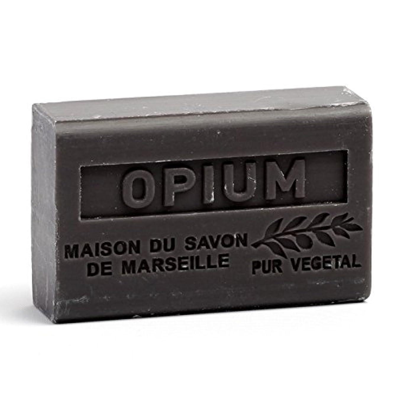 有効化顎プレミアムSavon de Marseille Soap Opium Shea Butter 125g
