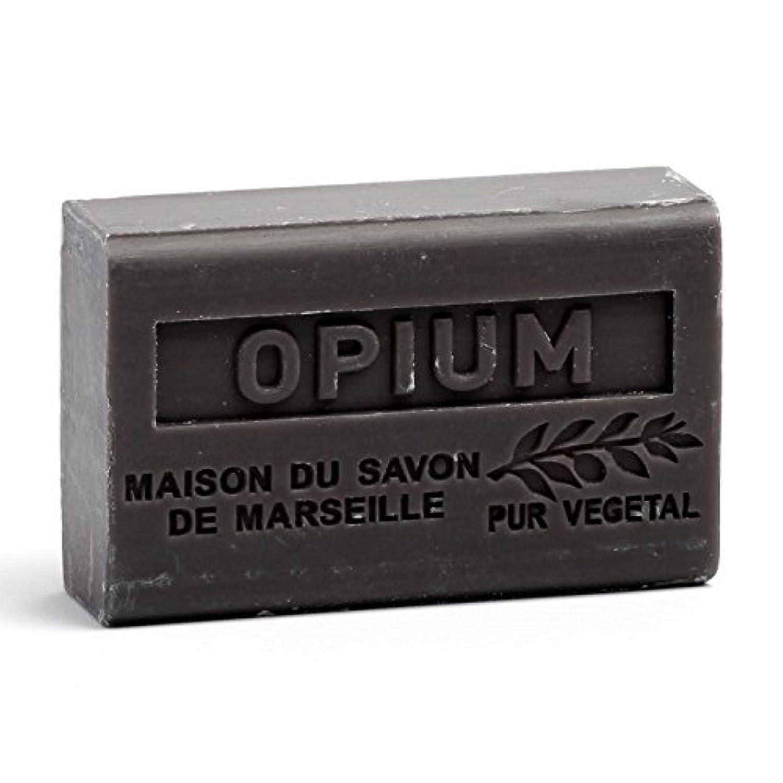 パーセント累計神聖Savon de Marseille Soap Opium Shea Butter 125g