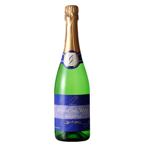 五一わいん ナイヤガラ スパークリングワイン 白 720ml やや甘口 【 桔梗ヶ原 林農園 】