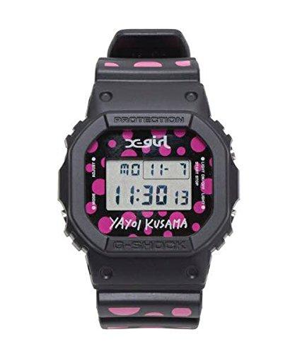 X-GIRL 草間彌生 G-SHOCK 腕時計