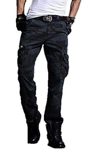メンズ パンツ ボトムス カーゴパンツ ズボン コットン チノパン 綿パン 迷彩 カモフラージュ カモフラ K10878 (33)