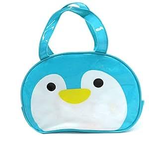 フォルテシモ ビニール ボストン バッグ ペンギン 約H20.5×W29×D10.5cm プールバッグ ビニールバッグ HCH06